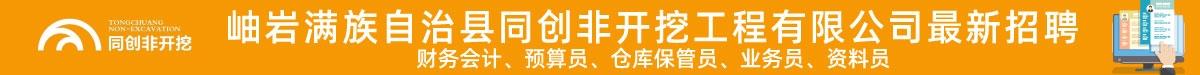 岫岩满族自治县同创非开挖工程有限公司